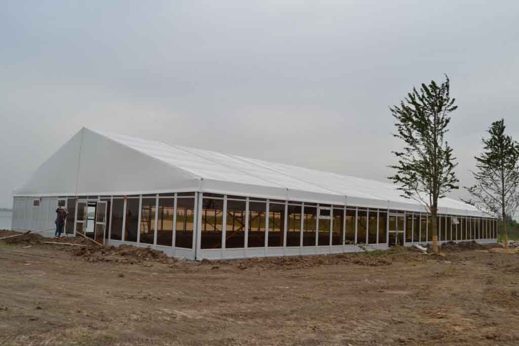 20m Event Tents installation in East China
