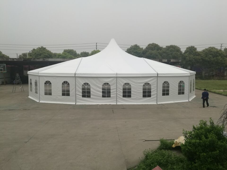 13x 20m Combine Tent Installation