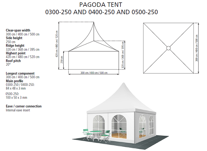 PAGODA TENT 0300-250 AND 0400-250 AND 0500-250.png  sc 1 st  EGu0027 TENT WHY NOT? & Pagoda Tent-EAST GRACE TECH. CORPORATION